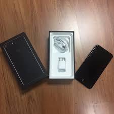 iphone 7 plus black. in box apple iphone 7 plus 256gb jet black gsm (unlocked). excellent cosmetic iphone
