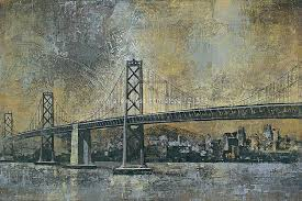 kemp bridge over water architecture painting or various sizes hand painted abstract large abstract paintings in painting calligraphy from home