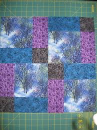 172 best Quilts - Disappearing Patch images on Pinterest ... & disappearing nine patch using directional prints. Adamdwight.com