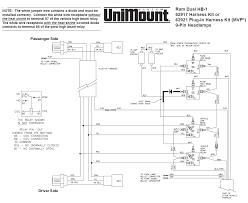 62917 western unimount hb 1 headlight harness kit dodge ram 99 throughout boss plow wiring diagram