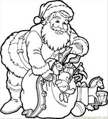 Small Picture 8 As Santa Claus Coloring Pages Coloring Page Free Shopping