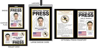 Credentials d At I Pass Press Card Media Ifpo