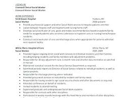 Msw Resume Sample Innovative Decoration Social Worker Resume With No
