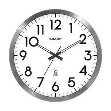 sharp atomic clock. sharp digital atomic wall clock