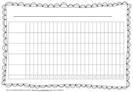 Word Graph Template Printable Bar Graphs Printable Bar Graph Template With Five