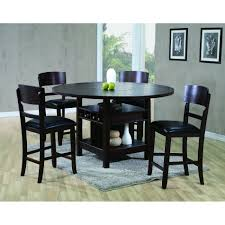 phoenix dining counter height table 4 chairs 2849