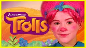 trolls poppy makeup tutorial costume diy cosplay kittiesmama you