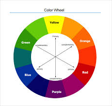 Colour Wheel Chart Colors Free 7 Sample Color Wheel Charts In Pdf Word