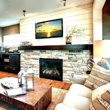 stone fireplace ideas with tv wall fireplace ideas modern stone fireplaces for mounted above stone fireplace