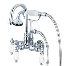 3 375 inch center wall mount tub faucet