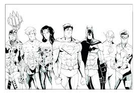 Coloring Pages Justice League Coloring Pages E Page The Lovely