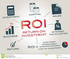 Return on investment stock illustration. Illustration of finance - 35357202