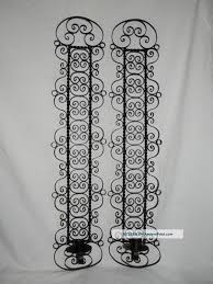 Small Picture 5205 1 Wall Sconces Wall Fixtures Fixtures Wrought Iron Candle