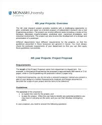 Engineering Project Proposal Template Templates Word Free Printable ...