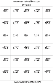 Printable Long Division Worksheets - Criabooks : Criabooks