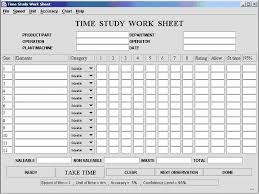 time study templates excel time study template excel best of time study template sufficient