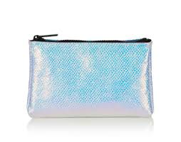 19 90 top holographic makeup bag