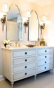 view full size chic bathroom features a restoration hardware