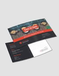 Postcard Templates Free Inspiration Free Postcard Templates Download ReadyMade Templatenet