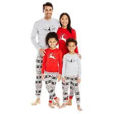 Christmas Pajamas - Family Matching Sets Flying Reindeer Pjs Cotton Pajama (3T
