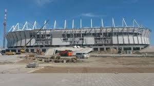 Laying of Rostov-Arena Football Field <b>Crushed Stone</b> Base is ...