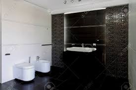Moderne Badezimmer Grau
