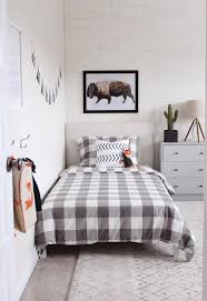 Modern Rustic Boys Bedroom- One Room Challenge THE REVEAL