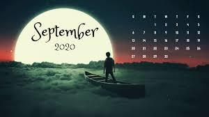 September 2020 Desktop Calendar ...