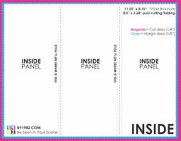free tri fold brochure templates for word al receipt template free tri fold brochures templates