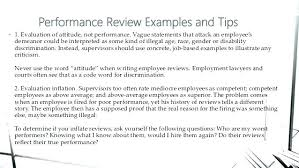 Employee Comments On Performance Evaluation Employee Performance Review Examples Wording Customer