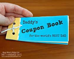 printable father s day book by busymomshelper com for thirtyhandmadedays com