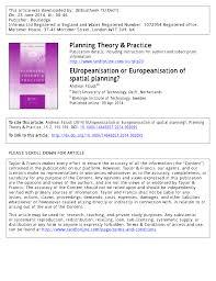 Pdf) Europeanisation Or Europeanisation Of...