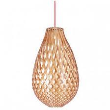 fioino lighting kanis large timber veneer pendant light