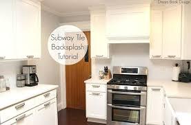 Installing Backsplash Tile In Kitchen How To Install Tile Sheets Interesting How To Install Backsplash Tile Sheets Painting