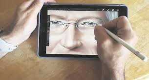 Drawing On Ipad Pro Watch Ipad Drawing Of Tim Cook Shows The Power Of The Pro