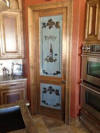 creative painted glass kitchen cabinet doors