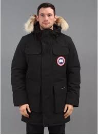 Canada Goose  Citadel  Parka Black with Genuine Coyote Fur (XL)