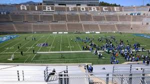 Air Force Football Seating Chart Falcon Stadium Section M22 Row L Seat 33 Air Force