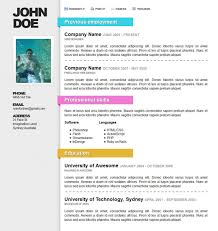 Awesome Resume Templates 100 Images Awesome Online Resumecv