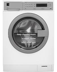 Compact Front Load Washers Kenmore 41912 24 Cu Ft Compact Front Load Washer W Steam