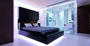 hidden lighting. Bed Frame With Lights 9 Bedrooms Beds That Feature Hidden Lighting The Under In Diy G
