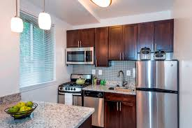All Electric Kitchen at Quebec House Apartments, Washington, DC, 20008