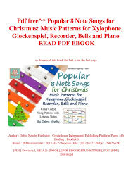 Pdf Free Popular 8 Note Songs For Christmas Music Patterns