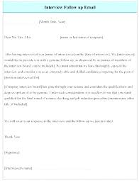 Thank You After Interview Template Job Interview Email Template Hostingpremium Co