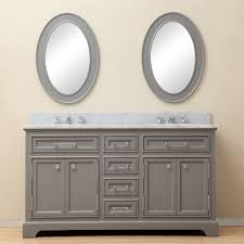 60 Bathroom Cabinet Water Creation Derby 60gf Derby 60 Double Sink Bathroom Vanity And