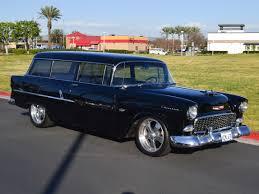1955 Chevrolet custom 210 2-door Wagon for sale at Corvette Mike's