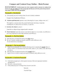 Comparison And Contrast Essays Examples Comparison And Contrast Essay Examples College Nonlogic