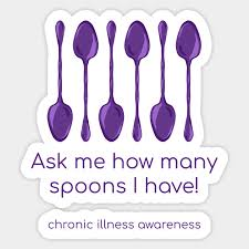 Ask Me How Many Spoons I Have Chronic Illness Awareness Purple By Kelseylovelle