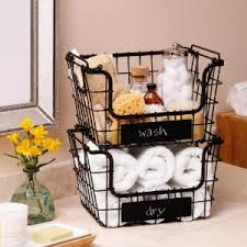 mikasa gourmet basics, kitchen storage, wire racks, metal baskets, fruit  basket,