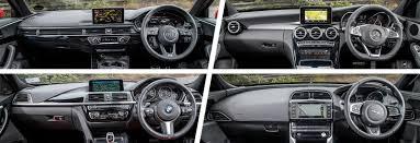Audi A4 vs Mercedes C-Class vs BMW 3 Series vs Jaguar XE | carwow